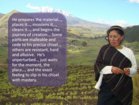 Focusing and Overcoming Extreme Poverty in Ecuador a slide show created by William Hernández